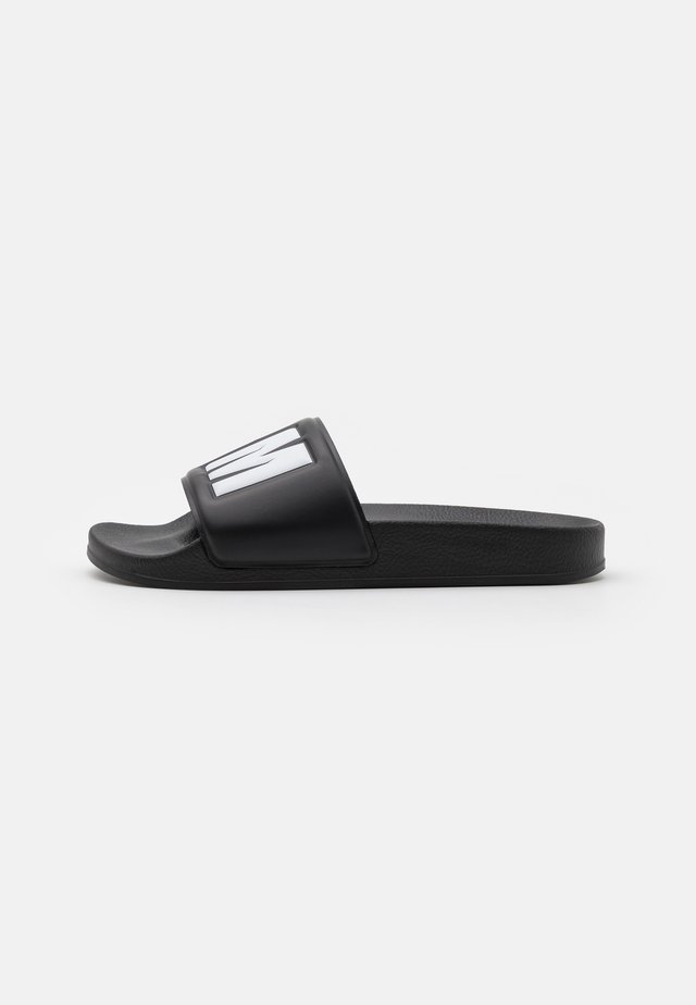 LOGO POOL SLIDE - Ciabattine - black