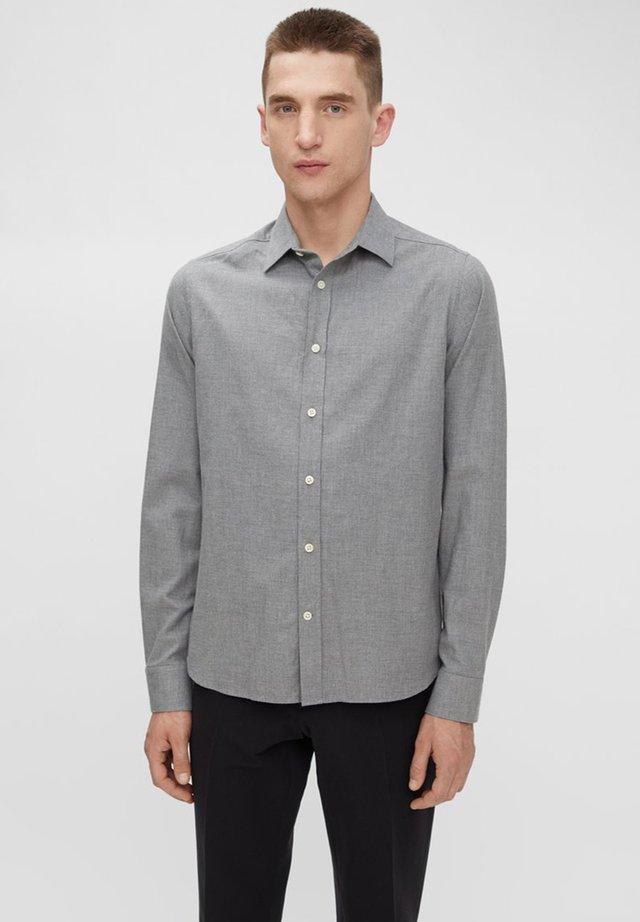 Hemd Light Flannel Slim - Shirt - granite