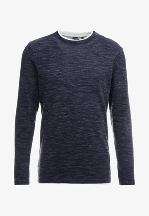 NEW TEXTURE - Long sleeved top - blues