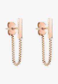 Liebeskind Berlin - Earrings - rose gold-coloured - 0
