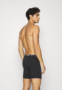 Nike Underwear - BOXER BRIEF 2PK COTTON STRETCH - Onderbroeken - black - 1