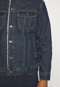 Lee - SHERPA  - Jas - dark blue denim - 5