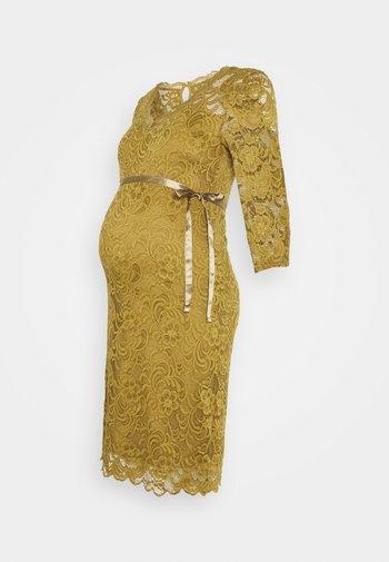 MLMIVANA 3/4 DRESS - Vestido informal - nutria