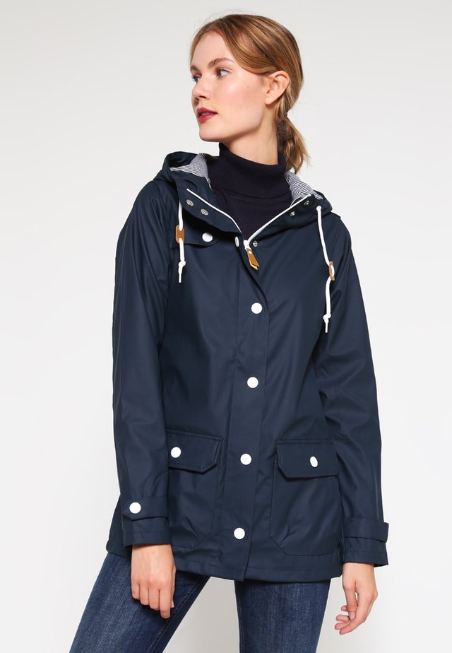 PENINSULA FISCHER - Waterproof jacket - navy