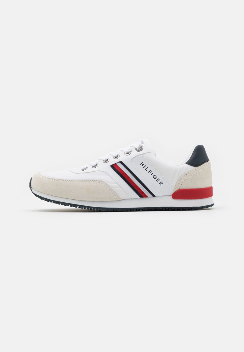Tommy Hilfiger - ICONIC RUNNER - Zapatillas - white