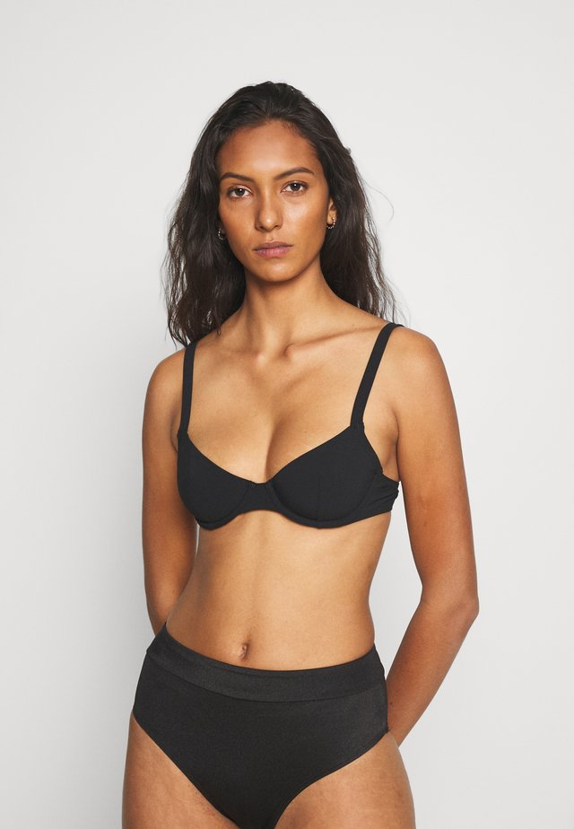 ESSENTIELLE CORBEILLE - Bikinitoppe - noir