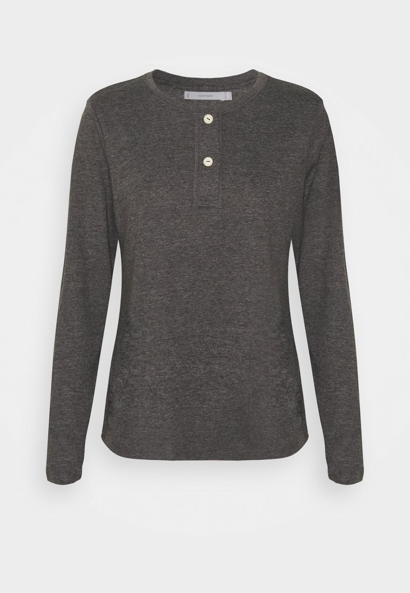 women'secret - Pyjama top - medium melange