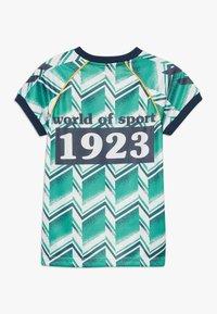 Hummel - HMLRUBEN  - Print T-shirt - everglade - 1