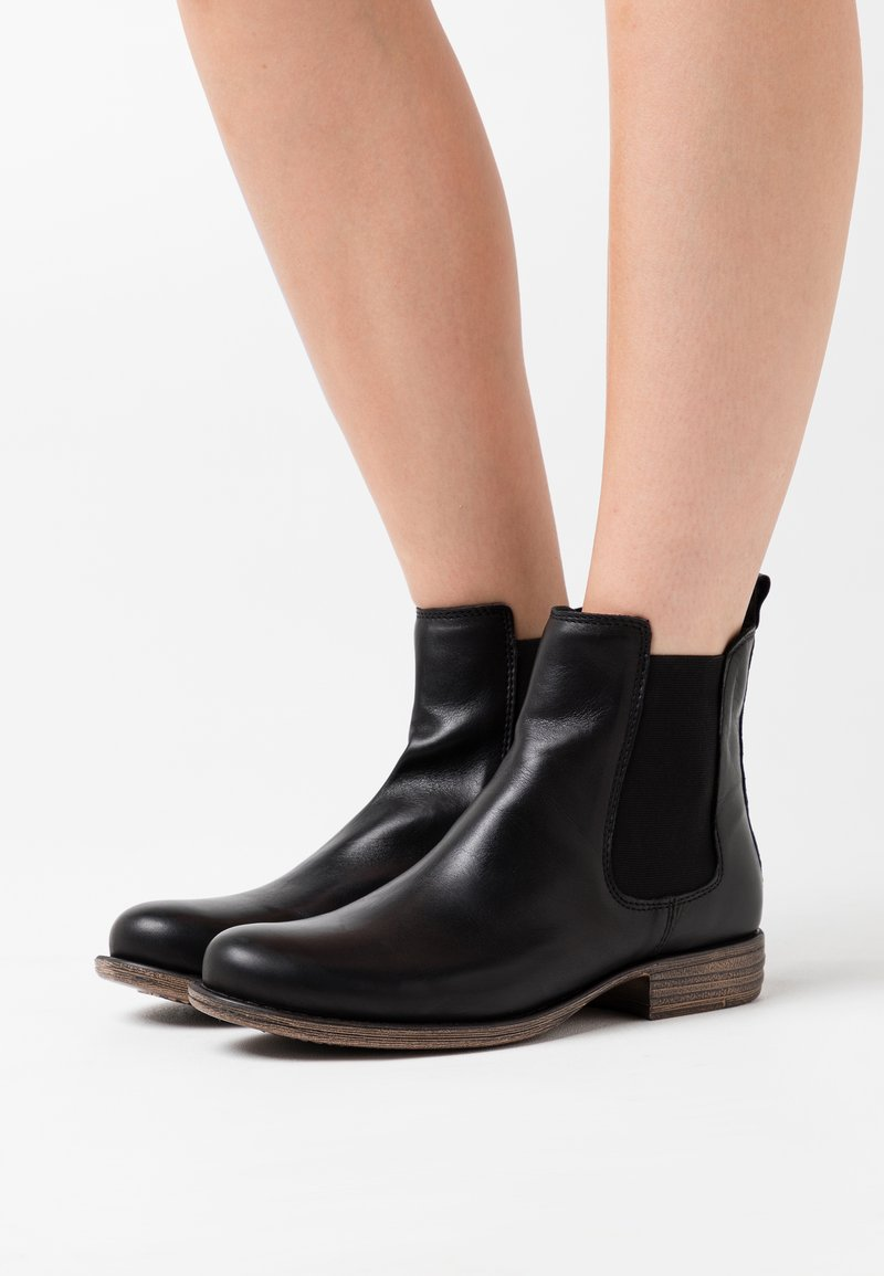 Anna Field - LEATHER  - Ankle boots - black