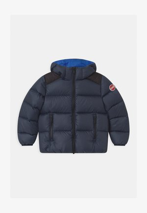 BOY HOODED - Winter jacket - navy blue