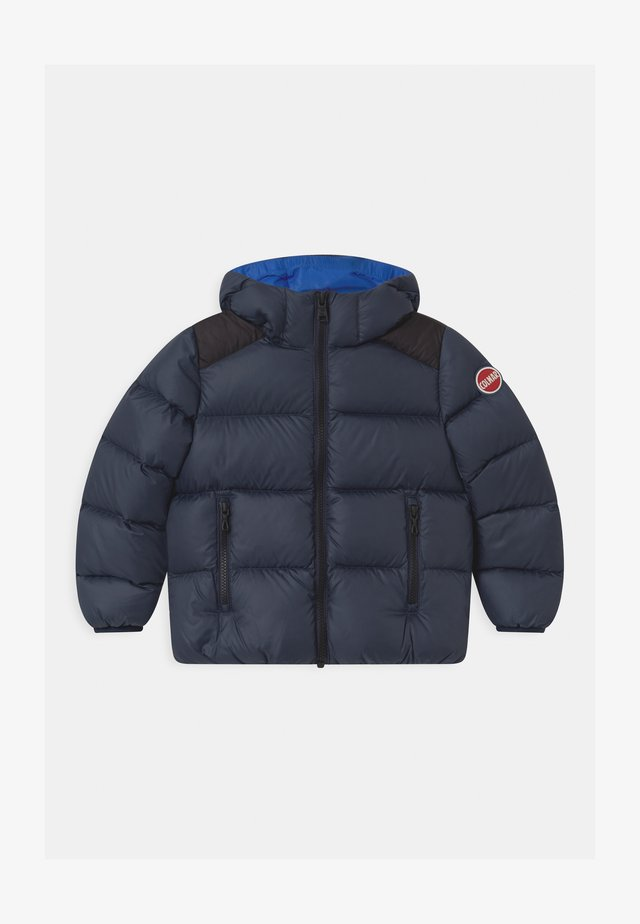 BOY HOODED - Winterjas - navy blue