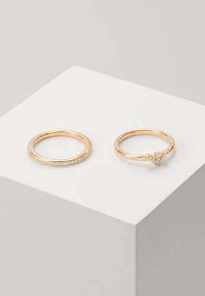 BAGUETTES 2 PACK - Anillo - rose gold-coloured