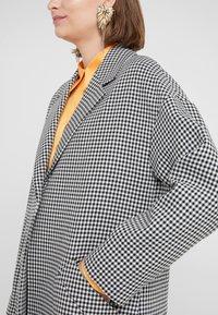 PS Paul Smith - Classic coat - black/white - 5