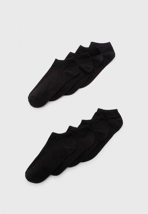 SNEAKER SOCKS 8 PACK  - Socks - black