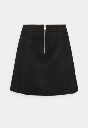 ONLLINUS - Mini skirt - black