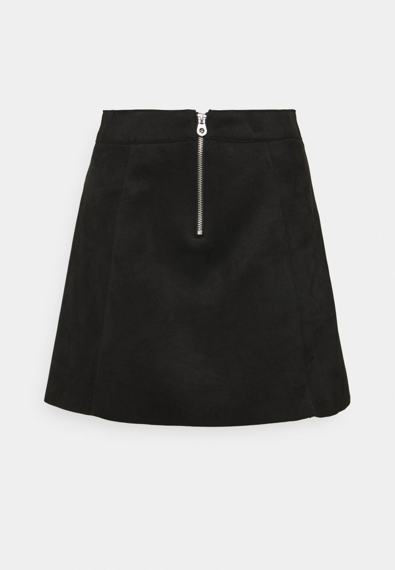 ONLY - ONLLINUS - Mini skirt - black