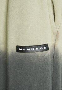 Mennace - DIP DYE REGULAR UNISEX - Tracksuit bottoms - black - 3