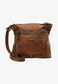 Tamaris - ULLA CROSSBODY BAG - Across body bag - brown - 6