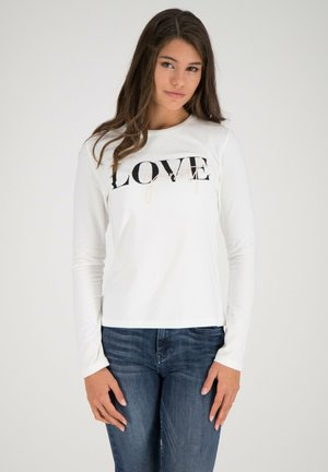Long sleeved top - offwhite multicolor