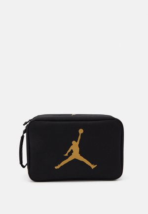 THE SHOE BOX - Sports bag - black/gold