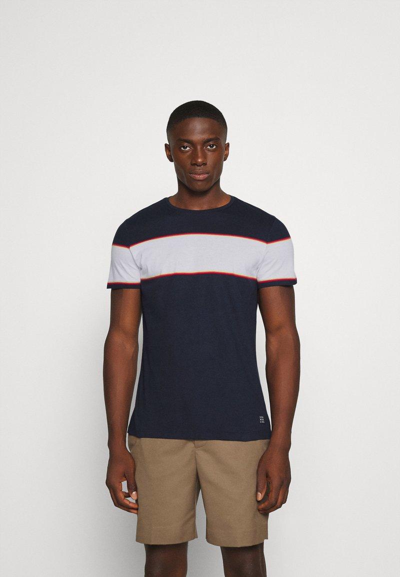 Blend - TEE - Print T-shirt - dark navy