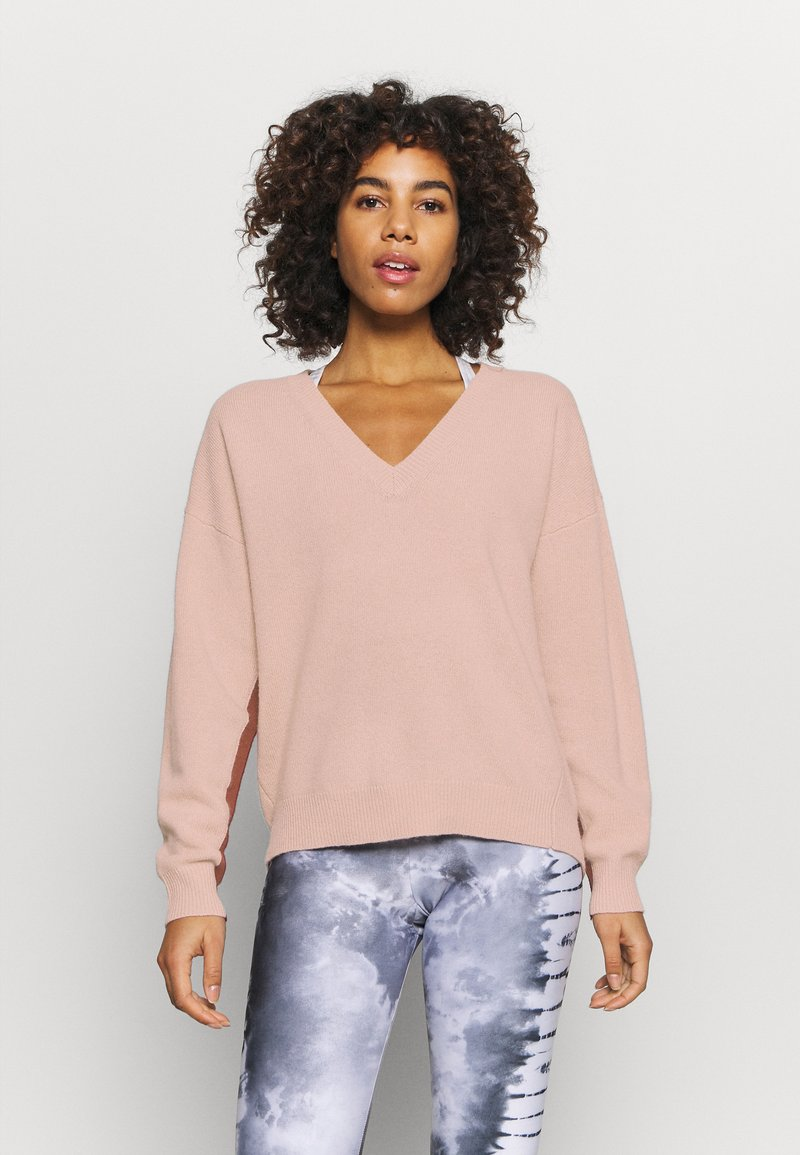 Sweaty Betty - RECLINE  - Jumper - misty rose pink