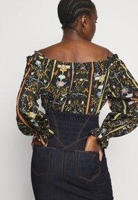 Versace Jeans Couture - LADY SKIRT - Denim skirt - indigo - 3