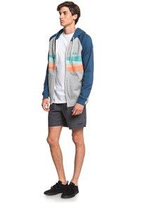 Quiksilver - EVERYDAY - Zip-up hoodie - light grey heather - 1