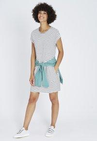 recolution - Jersey dress - navy / white - 1