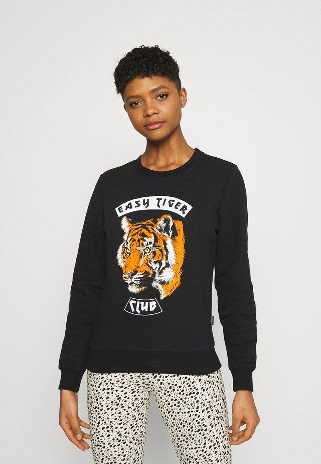 EASY TIGER BASIC - Sweatshirt - black