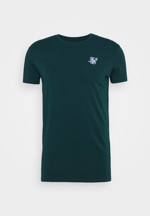 STRAIGHT GYM TEE - Basic T-shirt - ocean green