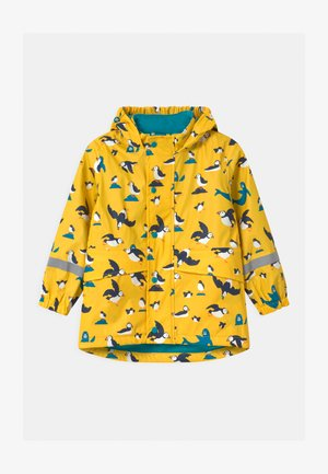 PUDDLE BUSTER UNISEX - Waterproof jacket - sunflower