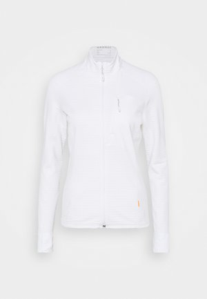 ACONCAGUA LIGHT JACKET WOMEN - Fleecejacke - white