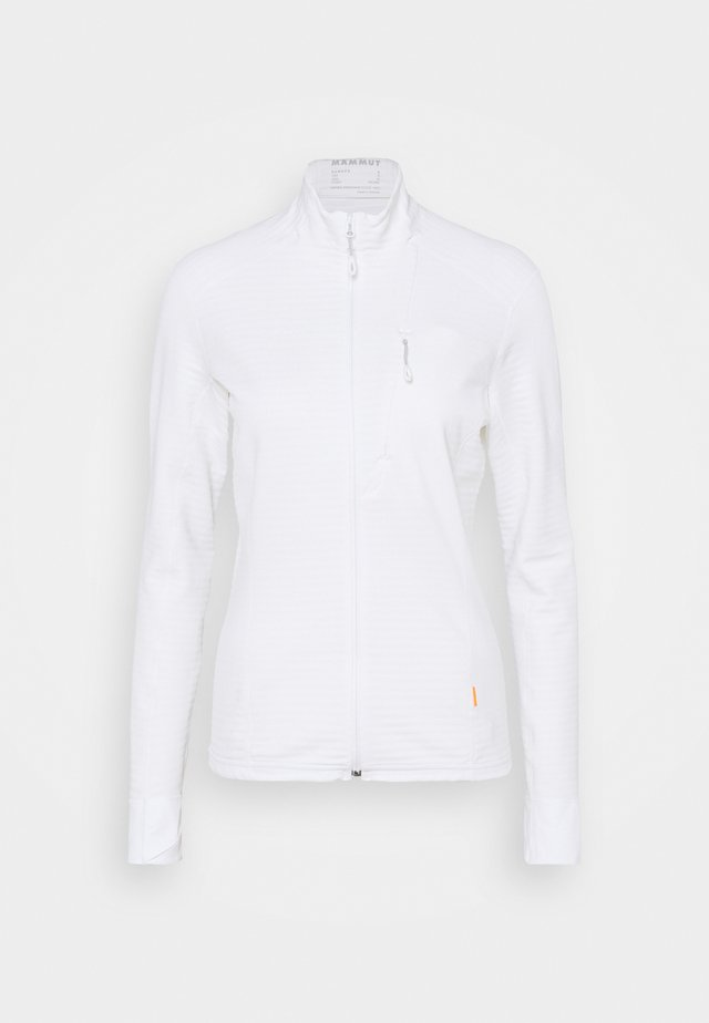 ACONCAGUA LIGHT JACKET WOMEN - Fleecová bunda - white