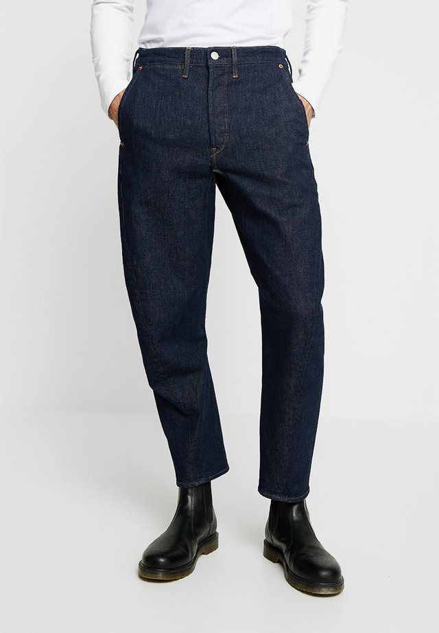 LEJ 570 BAGGY TAPER - Jeans relaxed fit - rinsed denim