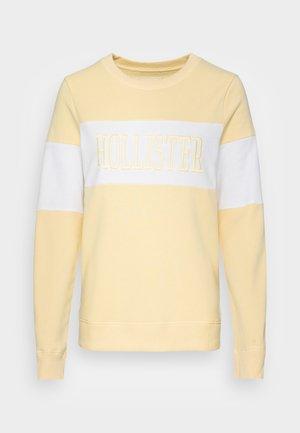 SECONDARY CORE LOGO - Sweatshirt - yellow