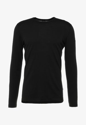 MENS CREWE - Sports shirt - black