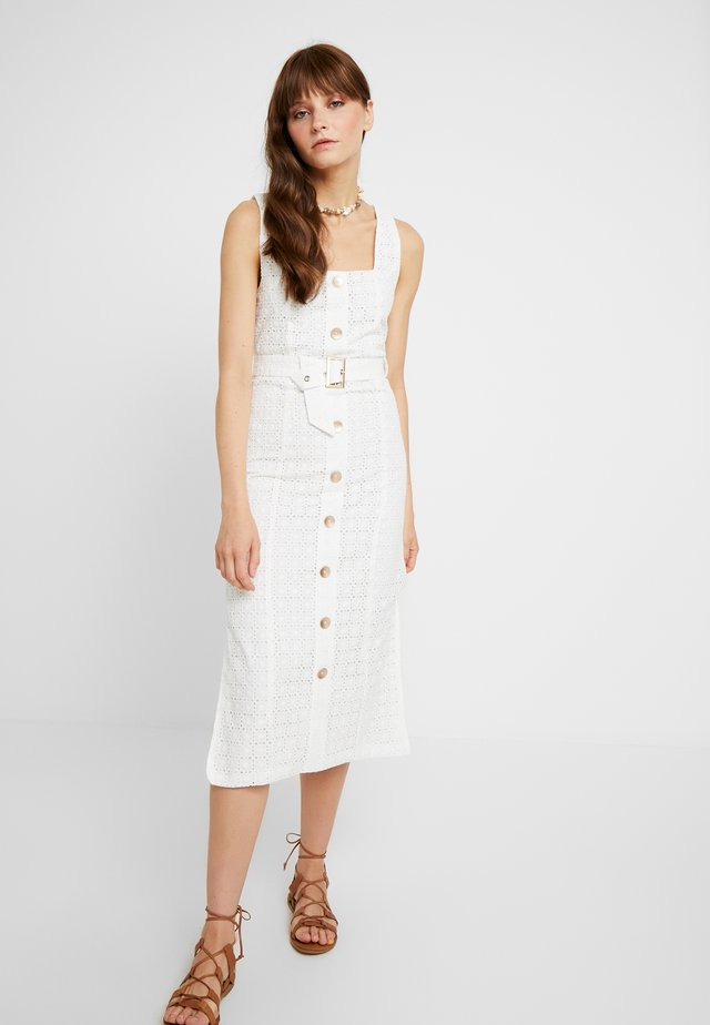 LULU MIDI DRESS - Day dress - white