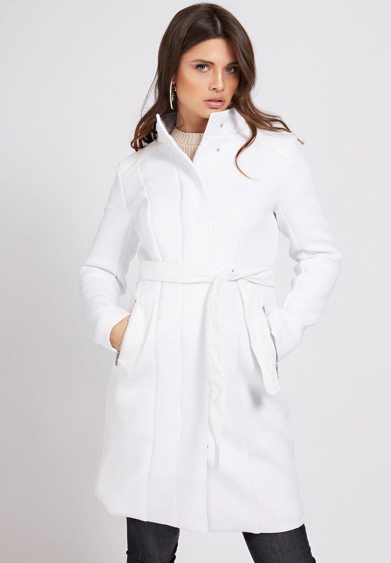 Guess - RAYA COAT - Classic coat - weiß