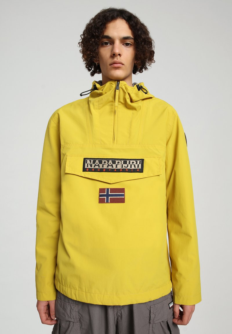 Napapijri - RAINFOREST SUMMER - Windbreaker - yellow moss