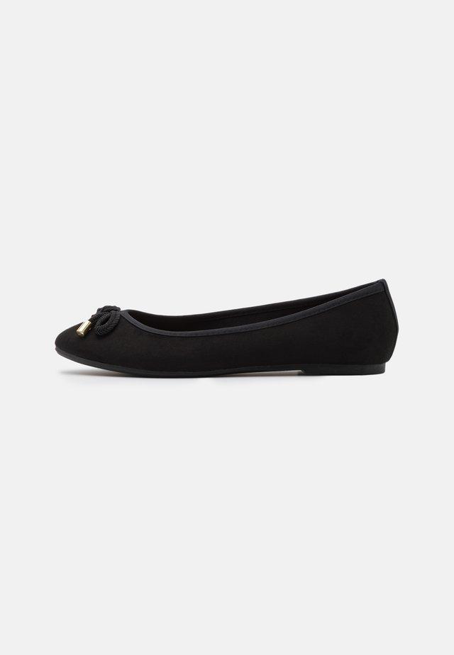 ECO WIDE FIT  - Ballet pumps - black