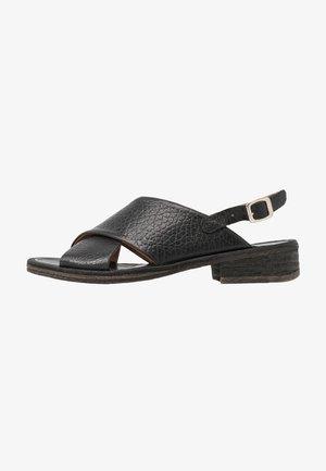 GRACE - Sandals - ingranato black