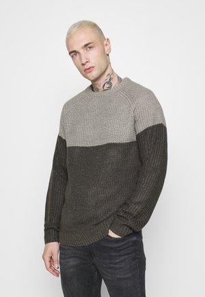 ONSKELVIN CREW NECK - Pullover - medium grey melange