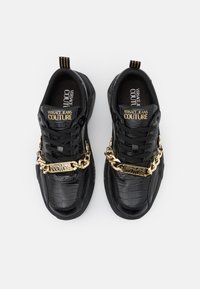 Versace Jeans Couture - Sneakers basse - black - 3