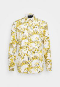 Versace Jeans Couture - PRINT LOGO NEW - Shirt - bianco ottico - 6