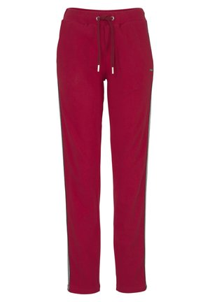 Tracksuit bottoms - weinrot