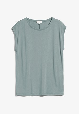 JILAA - Basic T-shirt - eucalyptus green