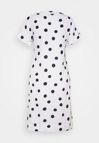 Marks & Spencer London - SPOT SHIFT - Kjole - off-white - 1
