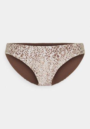 SERPENTINE HIPSTER - Bikini bottoms - chocolate