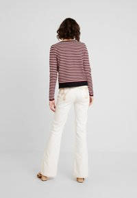 Morgan - Cardigan - rouge/off white - 2